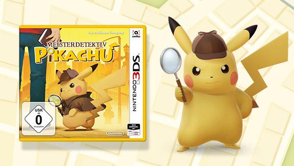 Das Rätselraten mit Pikachu beginnt