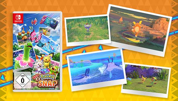 New Pokémon Snap ist jetzt für Nintendo Switch erhältlich