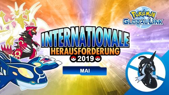 Registriere dich jetzt für das Online-Turnier <em>Internationale Herausforderung Mai 2019</em>!