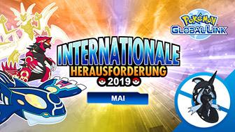 Registriere dich jetzt für das Online-Turnier Internationale Herausforderung Mai 2019!