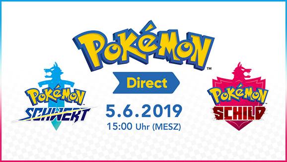 Am 5. Juni gibt es Neuigkeiten zu Pokémon Schwert und Pokémon Schild