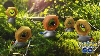 Schnapp dir ein Schillerndes Meltan in Pokémon GO