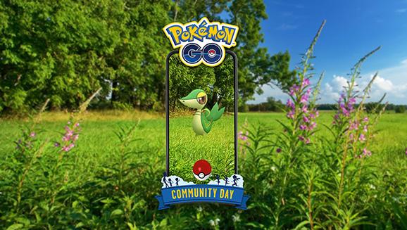 Es ist an der Zeit für Serpifeu am Pokémon GO Community Day im April in ins Rampenlicht zu treten
