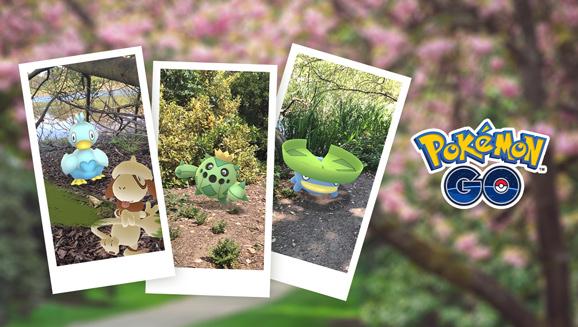 Richte deinen Fokus auf die Feier zum Erscheinen von New Pokémon Snap in Pokémon GO