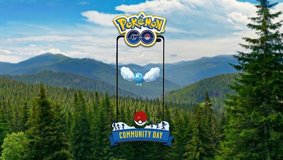 Wablu ist der Star beim Pokémon GO-Community Day im Mai