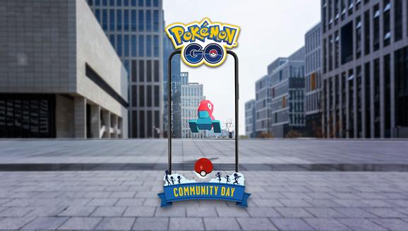 Das Pokémon des Community Day im September ist Porygon!