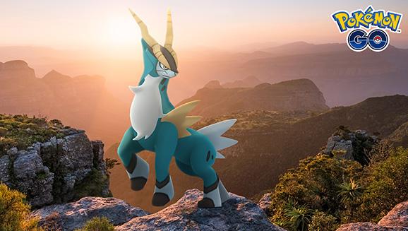 Stelle dich Kobalium in Pokémon GO-Raids