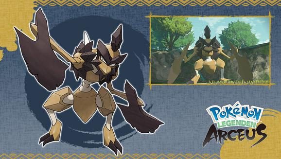 Königliche Neuigkeiten zu Pokémon-Legenden: Arceus