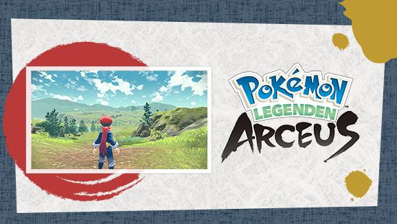 Erkunde in Pokémon-Legenden: Arceus das Sinnoh der Vergangenheit
