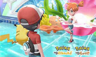 Bist du bereit, in die Pokémon-Welt einzutauchen? Let's Go!