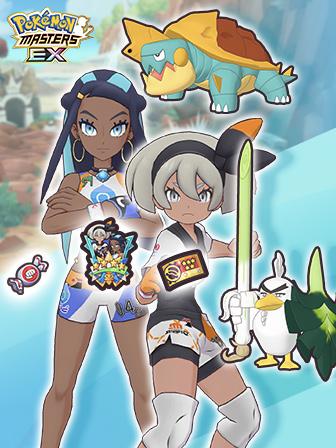 Kate und Saida in Pokémon Masters EX