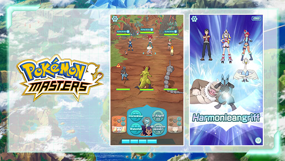 Neue Infos zu <em>Pokémon Masters</em> samt Trailer veröffentlicht