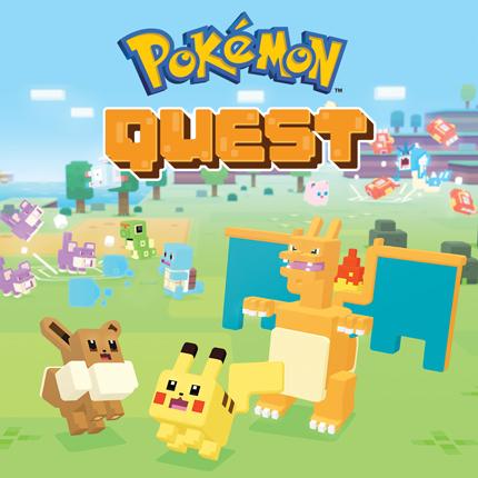 Pokémon Quest erscheint für mobile Geräte!