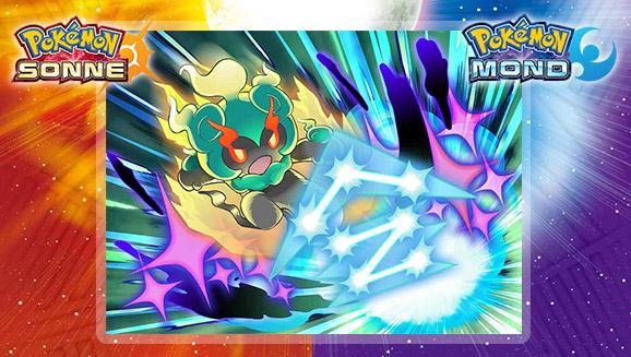 Halte einen Platz für Marshadow frei in <em>Pokémon Sonne</em> und <em>Pokémon Mond</em>