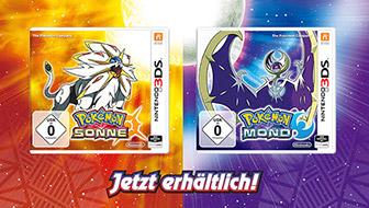 Erkunde Alola in Pokémon Sonne und Pokémon Mond noch heute!