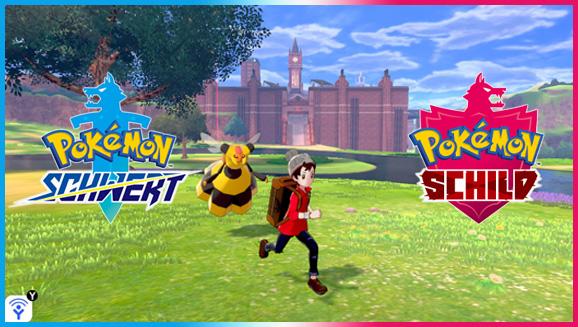 Auf in die Natur in Pokémon Schwert und Pokémon Schild!