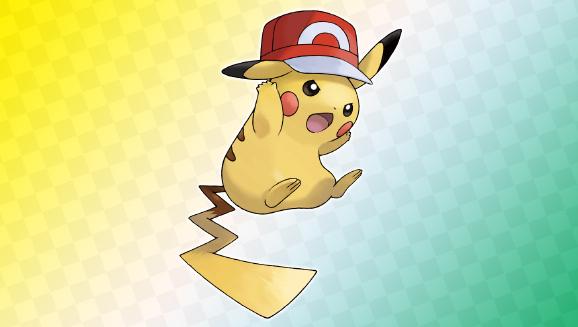 Überrage mit Pikachu (Kalos-Kappe)