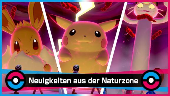 Einige Lieblings-Pokémon gigadynamaximieren sich