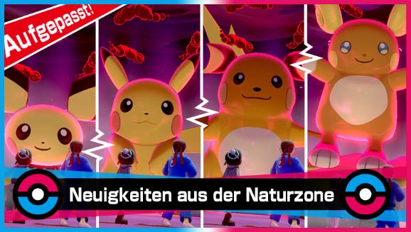 Eine Gruppe Pikachu erscheint in Dyna-Raids