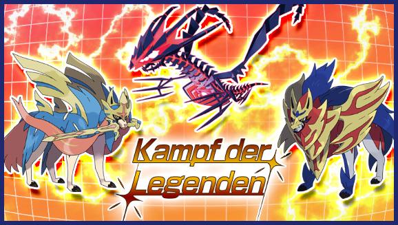 Nimm am Kampf der Legenden teil