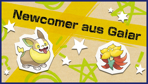 """Beginne beim Online-Turnier """"Newcomer aus Galar"""", deine eigene Legende zu schreiben"""