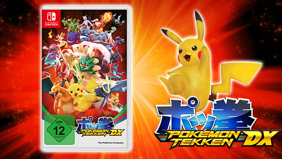 Der ultimative Kampf beginnt jetzt in <em>Pokémon Tekken DX</em>!