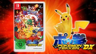 Der ultimative Kampf beginnt jetzt in Pokémon Tekken DX!