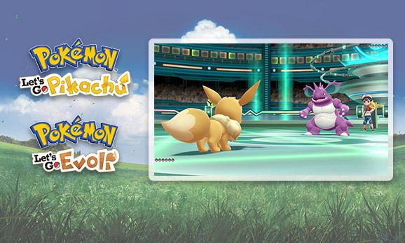 Mach dich kampfbereit in <em>Pokémon: Let's Go, Pikachu!</em> und <em>Pokémon: Let's Go, Evoli!</em>