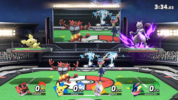 Feiere das Pokémon-Universum in Super Smash Bros. Ultimate