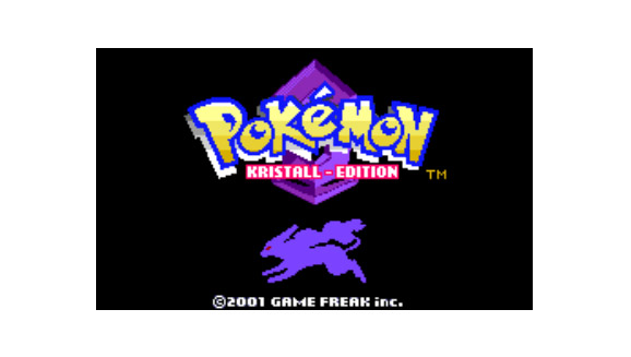 Pokémon Crystal (Kristall-Edition) für die Virtual Console