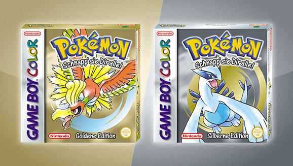 Pokémon Goldene Edition und Pokémon Silberne Edition