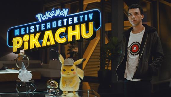POKÉMON Meisterdetektiv Pikachu jetzt im Kino!