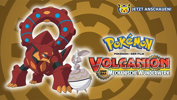 Volcanion setzt sich auf Pokémon-TV in Szene