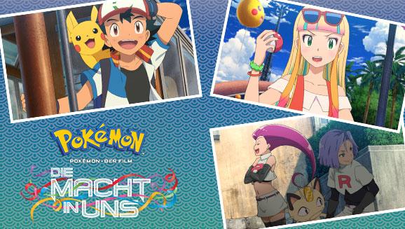 Sieh dir <em>Pokémon – Der Film: Die Macht in uns</em> in deinen vier Wänden an