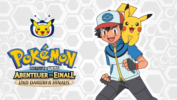 Ash startet auf Pokémon-TV in der Einall-Liga durch