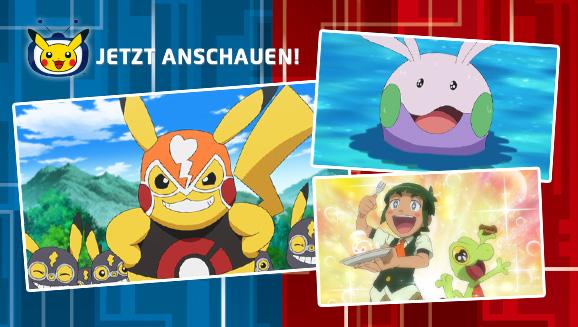 Schaue dir Ashs Erkundungen in Kalos auf Pokémon-TV an