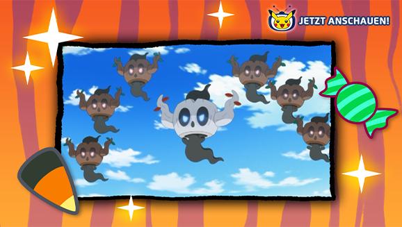 Die Geister mit dem meisten Gruselspaß auf Pokémon-TV