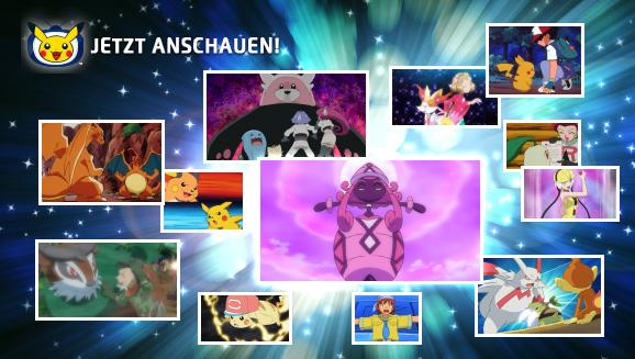 Schau dir unvergessliche Folgen auf Pokémon-TV an