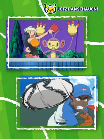 Pokémon-TV: Schnelligkeit, Kraft und Kampfgeist