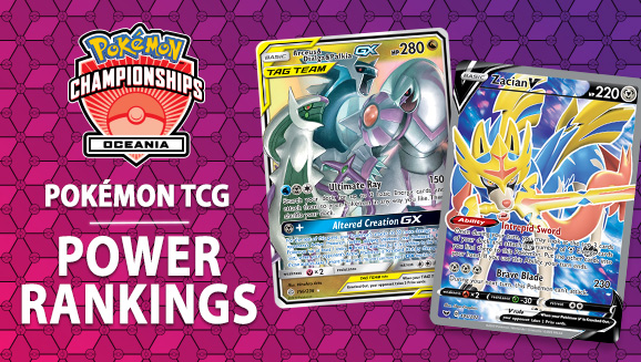 Oceania Internationals: Pokémon TCG Power Rankings