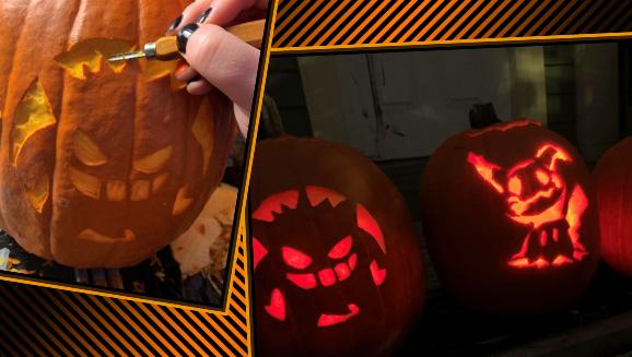 Gourdgeous Pokémon Pumpkin Stencils this Halloween