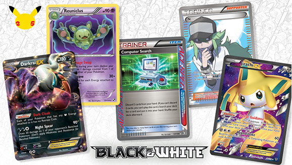 Pokémon TCG Pros Reveal a Spectrum of Favorite Black & White Series Cards
