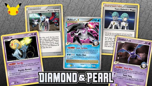 Treasured Pokémon TCG Cards from the Sinnoh Era