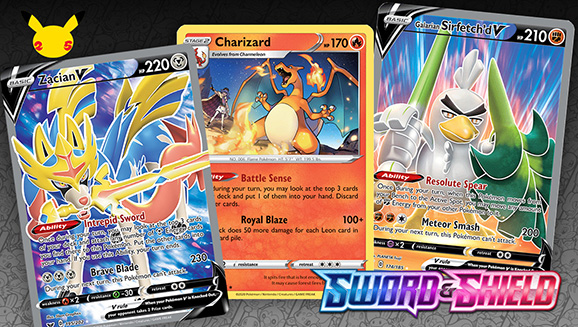 Favorite Cards of the Galar Era from Top Members of the Pokémon TCG World