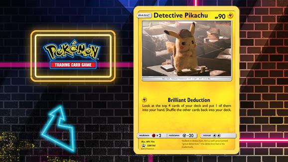 Meet Detective Pikachu in Pokémon TCG: Detective Pikachu