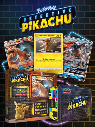 Get on the Case with Detective Pikachu Cards