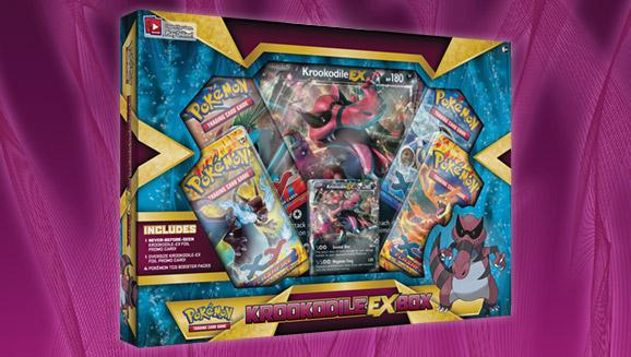Pokémon TCG: Krookodile-<em>EX</em> Box