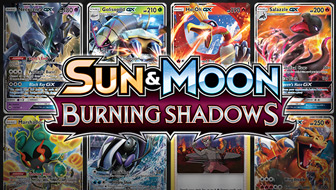 Browse the Cards of Sun & Moon—Burning Shadows!