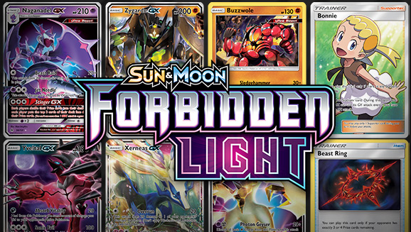 Browse the Cards of <em>Sun & Moon—Forbidden Light</em>!