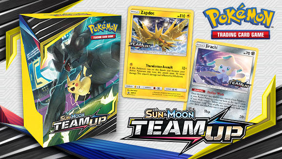 Team Up for a Pokémon TCG Game Night